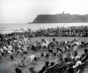 Beach Exercises at Scarborough
